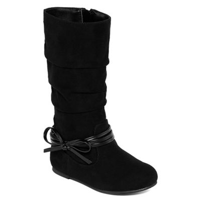 Okie Dokie Girls Lil Haven Slouch Flat Heel Boots