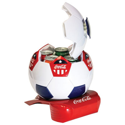 Coca-Cola Soccer Ball Cooler