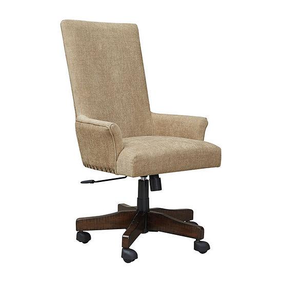 Signature Design by Ashley® Baldridge Upholstered Swivel Desk Chair