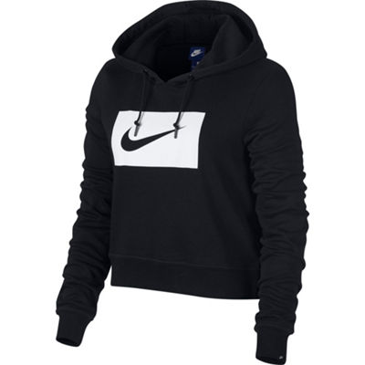 Nike Crop Long Sleeve Sweatshirt
