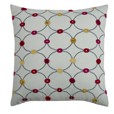 Rizzy Home Maddox Geometric Decorative Pillow