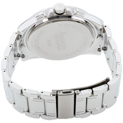 Womens Silver Tone Watch-Am4019s50-004