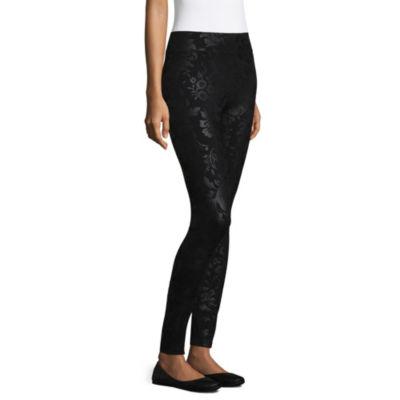Mixit Tonal Floral Womens Slim Legging