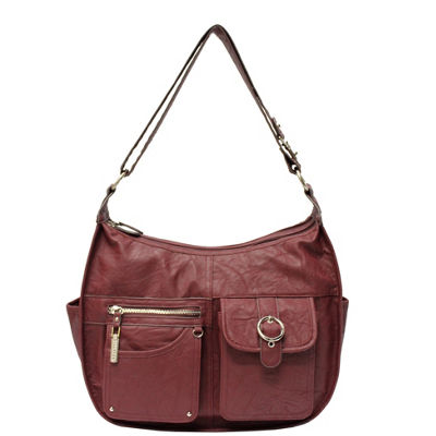 Rosetti Riveting Seams Shoulder Bag