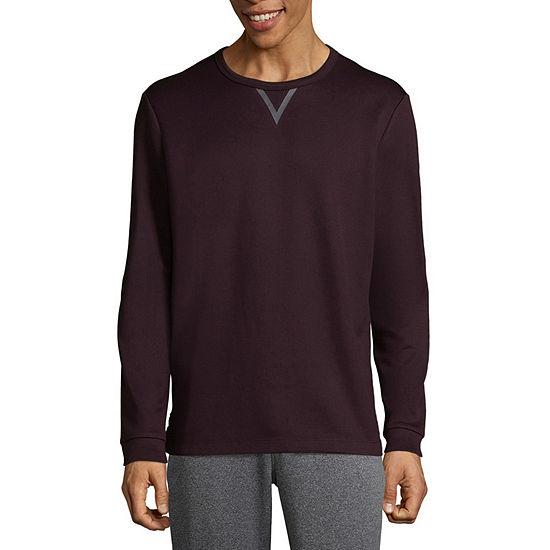 Msx By Michael Strahan Mens Crew Neck Long Sleeve T Shirt