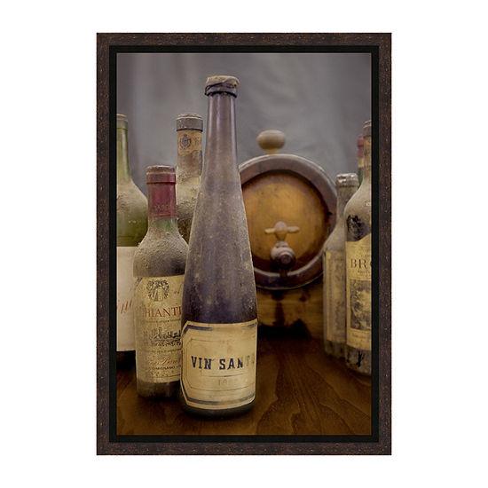 Antico Cantina - Vin Santo Framed Print
