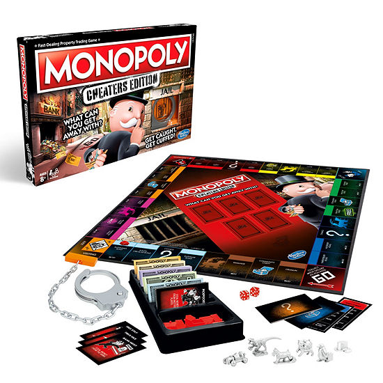 Hasbro Monopoly Board Game Cheaters Edition