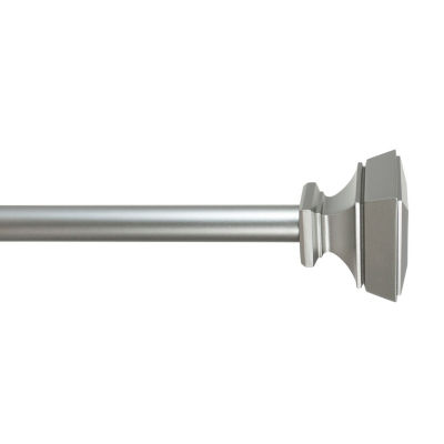 Home Expressions Axel Square 5/8 IN Curtain Rod