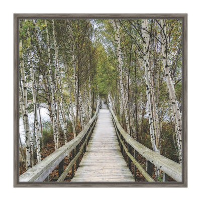 The Path Home Framed Canvas Art