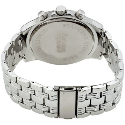 Womens Silver Tone Watch-Am4020s50-007