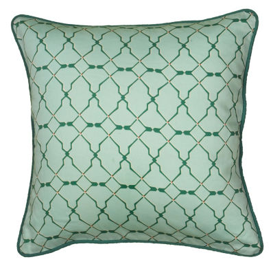 Rizzy Home Rory Geometric Decorative Pillow