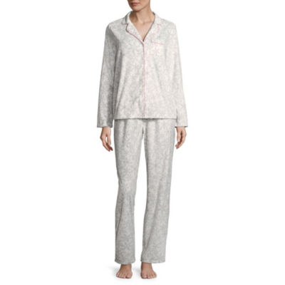 Adonna Microfiber Notch Collar Pajama Set
