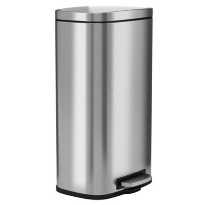 Halo 30 L / 8 Gal Premium Stainless Steel Step Trash Can