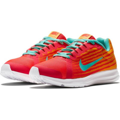 Nike Dwnshifter 8 Fade Girls Running Shoes Lace-up - Big Kids