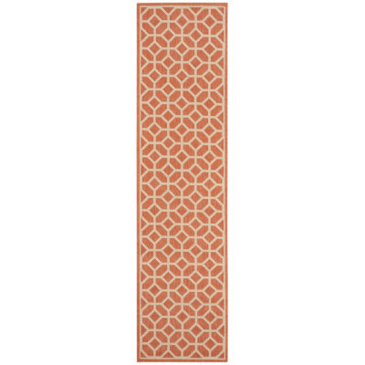 Safavieh Linden Collection Cecil Geometric RunnerRug