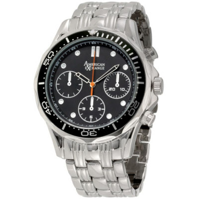 Womens Silver Tone Watch-Am4020s50-599