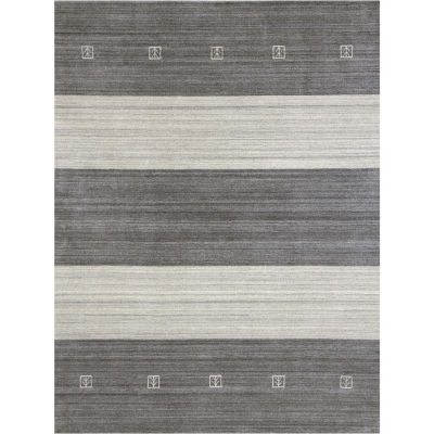 Amer Rugs Blend AF Hand-Woven Wool and Viscose Rug