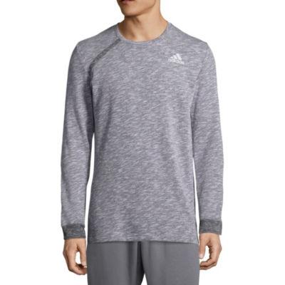 adidas Long Sleeve Crew Neck T-Shirt