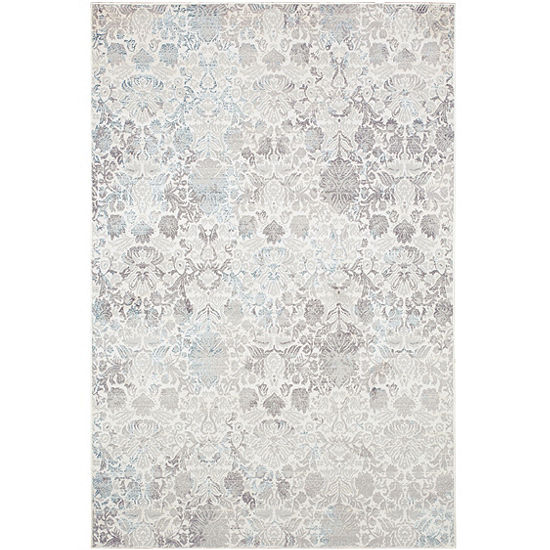 Christian Siriano Brooksville Windsor Damask Rectangular Rug
