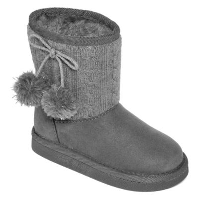 Okie Dokie Toddler Girls Mary Winter Boots