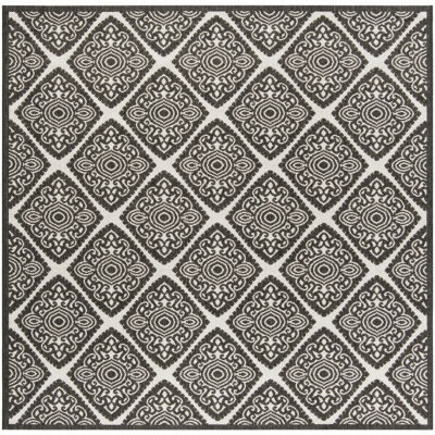 Safavieh Linden Collection Raymond Geometric Square Area Rug