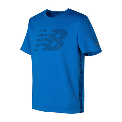 New Balance Short Sleeve T-Shirt-Preschool Boys