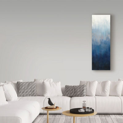 Trademark Fine Art Silvia Vassileva Silver Wave IIGiclee Canvas Art