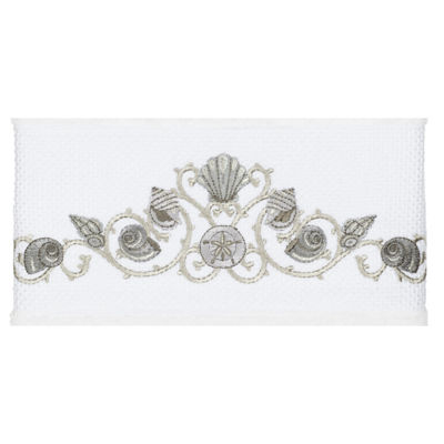 Linum Home Textiles 100% Turkish Cotton Bella Embellished Towel Collection