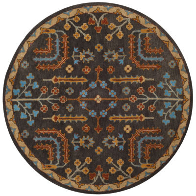 Safavieh Heritage Collection Noah Oriental Round Area Rug