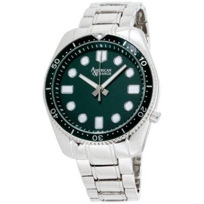 Womens Silver Tone Bracelet Watch-Am4024s50-204
