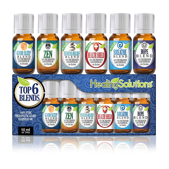 Healing Solutions Top Blends Gift Set  Essential Oil's