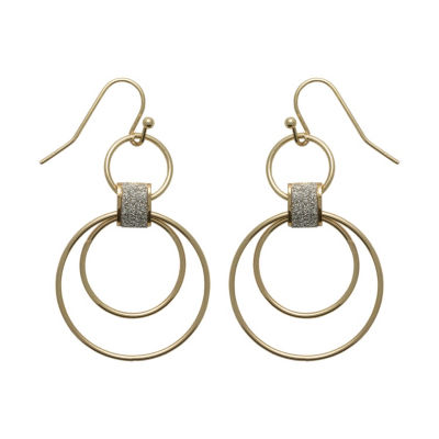 Sensitive Ears 1 Pair Brass Earring Set