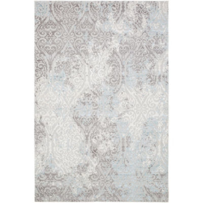 Christian Siriano Brooksville Cambridge Damask Rectangular Rug