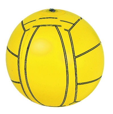 "RhinoMaster Play Blow Up Big Volleyball - 16"" Inflatable Beach Ball"