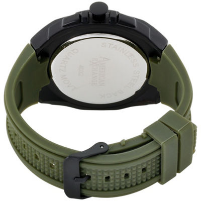 Womens Green Bracelet Watch-Am4032bk50-599