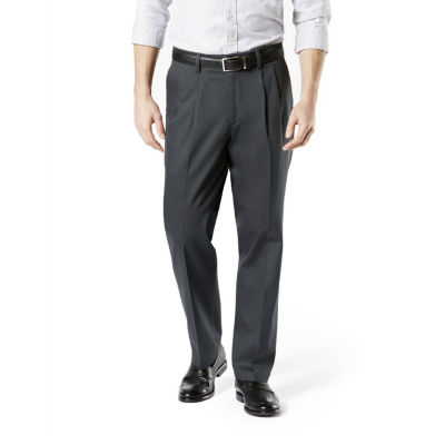 Dockers® Classic Fit Signature Khaki Lux Cotton Stretch Pants - Pleated D3