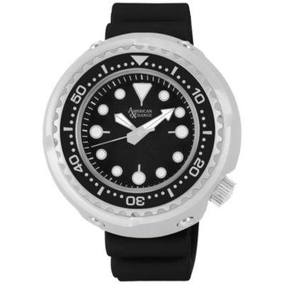 Womens Black Bracelet Watch-Am4025s50-322