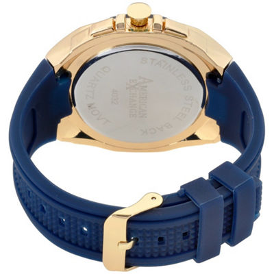 Womens Blue Bracelet Watch-Am4032g50-007