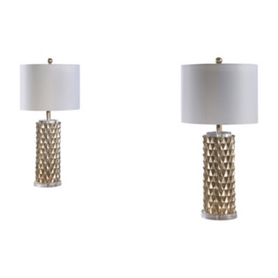 Andreini Textured Table Lamp Set Of 2