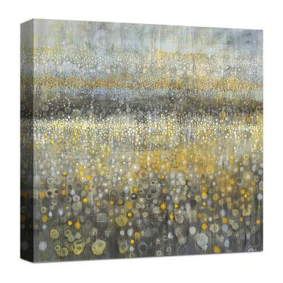 Rain Abstract II Canvas Art