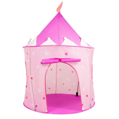 Hey! Play! Princess Castle Pink Play Tent