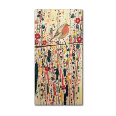 Trademark Fine Art Sylvie Demers Je Ne Suis Pas Qu'un Oiseau Giclee Canvas Art