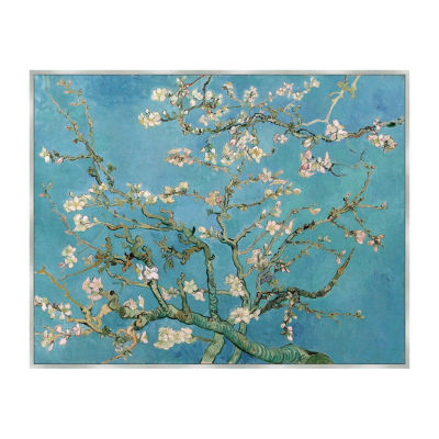 Almond Blossom - Van Gogh Framed Canvas Art