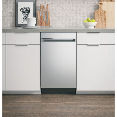 "GE Profile™ ENERGY STAR® 18"" Built-In Dishwasher"