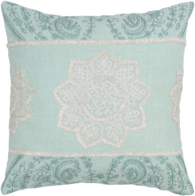 Rizzy Home Vincent Floral Decorative Pillow