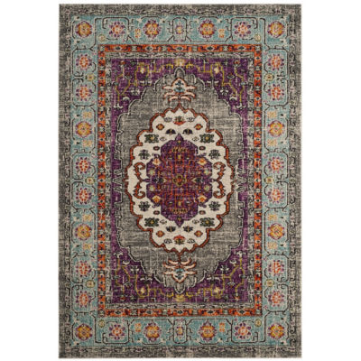 Safavieh Monaco Collection Zahara Oriental Round Area Rug