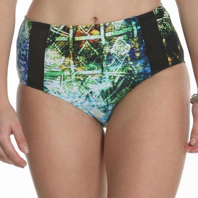 Sun and Sea Animal Attraction Mesh Panel Swimwear Brief