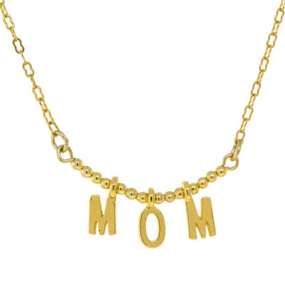 1928 Mother's Day Items Womens Brass Collar Necklace