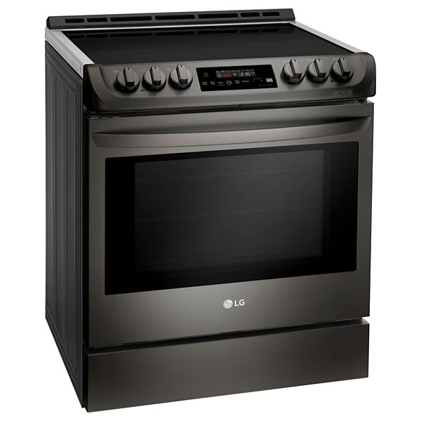 LG 6.3 cu. ft. Wi-Fi Enabled Induction Slide-in Range with ProBake Convection® and EasyClean®