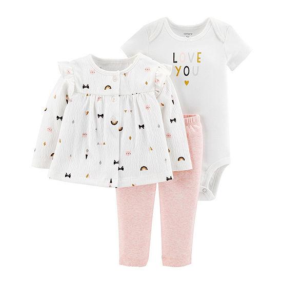 Carter's Girls 3-pc. Baby Clothing Set-Baby
